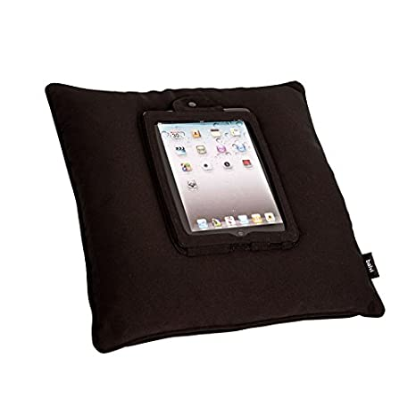 Amazon.com: Balvi - Tablet Cushion iCushion Black Polyester ...