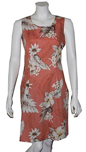 Alohawears Fleurs Entreprise Île Des Femmes Vêtements Hawaiien Robe Courte Réservoir De Pêche