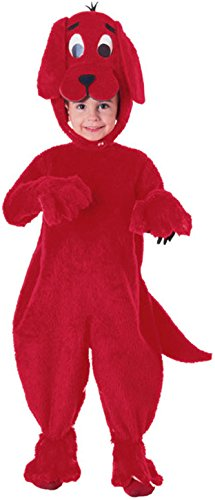 [Rubie's Costume Children Clifford The Big Red Dog Deluxe Costume, Medium, One Color] (Adult Clifford Costumes)