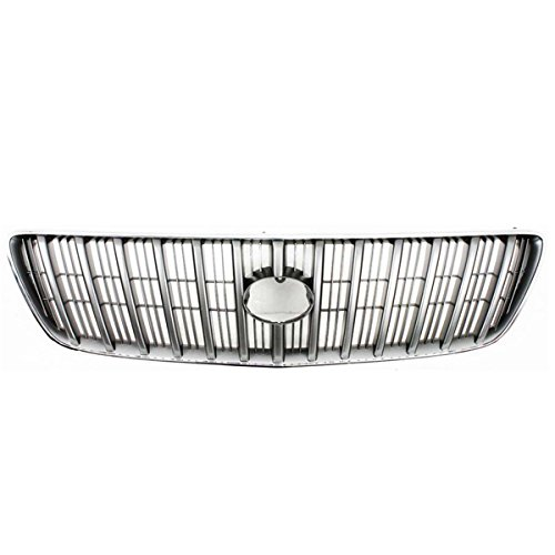 Koolzap For 99-03 RX-300 Front Grill Grille Assembly Chrome/Silver Bars LX1200105 5311148010