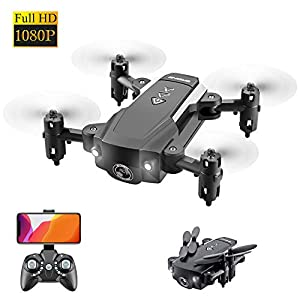 ODOMY Portable RC Drone, FPV RC Drone with 1080P HD Camera WiFi Live Video, Home Quadcopter and GPS Auto Return Home…