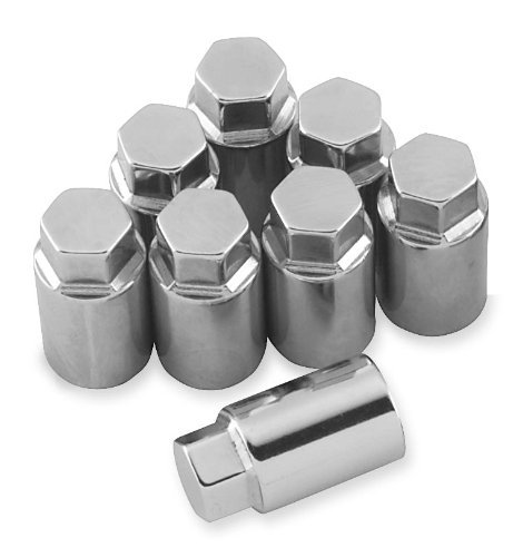 Chrome Cylinder Base Nuts - Colony Cylinder Base Nut Kit 8600-8