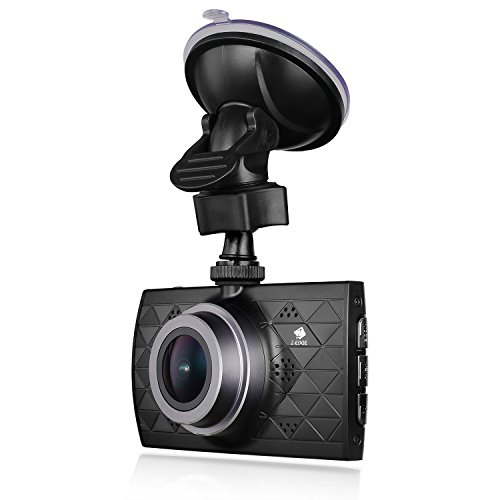 Z-EDGE Z3 Plus Dash Cam, Super HD 2.7K Car Dashboard Camera 1440P Car Camera with Ambarella A12 Chipset, 3-Inch Screen, Super HDR Night Vision, 155-Degree Wide Angle and 32GB Memory Card Included (Micro Sd Dual Pack)