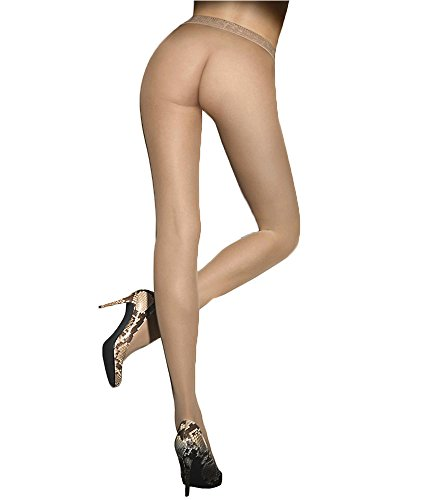 (Wolford Fatal 15 Denier Seamless Pantyhose, L, Cosmetic)