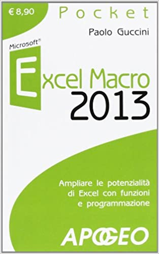 EXCEL MACRO 2013 - GUCCINI PAO