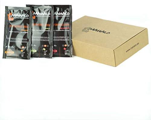 MAHALO PERFORMANCE DRINK BOX Monodosis 12 x 45 g. Sabores Naranja ...