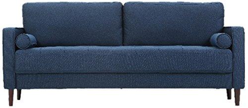 Lifestyle Solutions LK LGFSP3GU3051 Lexington Sofa In Navy Blue