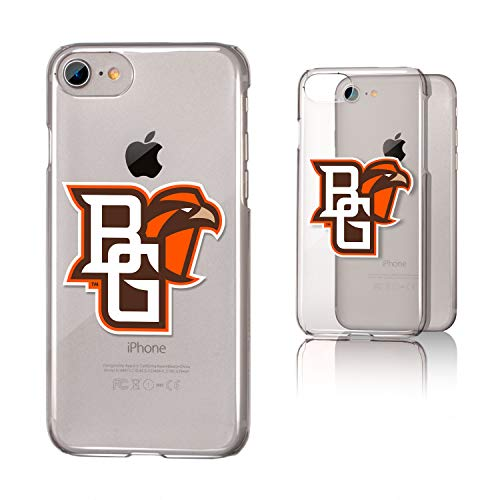 Keyscaper KCLRI7-0BOW-INSGN1 Bowling Green State Falcons iPhone 8/7 Clear Case with BGSU Insignia Design (Bowling Store Green Apple)