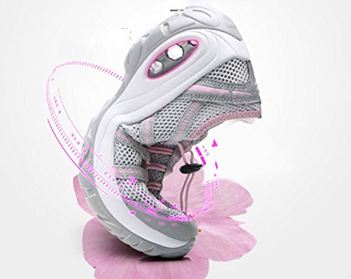 Sports Breathability Running Anti Slip Stretchy Leisure Shoes Wearable Shoes Mountaineer Women's Black Hiking xYSIqZx