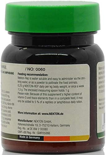 Nekton Rep Vitamin Mineral Supplement for Reptiles