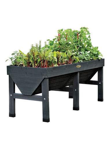 VegTrug Patio Garden, Charcoal (Garden Planters Lead)
