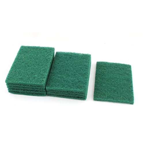sponge-kitchen-bowl-dish-wash-clean-scrub-cleaning-pads-10pcs-green
