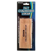2 Pk, Bazic Felt Chalkboard Eraser