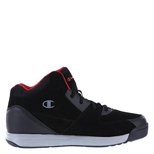 Image of Champion Men's Black Red Men's Overtime Basketball Shoe 7 Regular