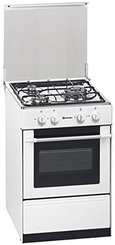Fours et cuisini/ères Meireles G 1530 DV Cuisini/ère Blanc Cuisini/ère /à gaz Cuisini/ère, Blanc, Rotatif, Devant, Cuisini/ère /à gaz, Butane