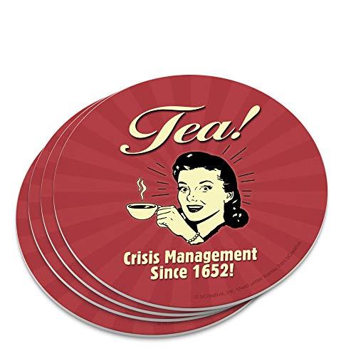 Tea Crisis Management Since 1652 Funny Humor Retro