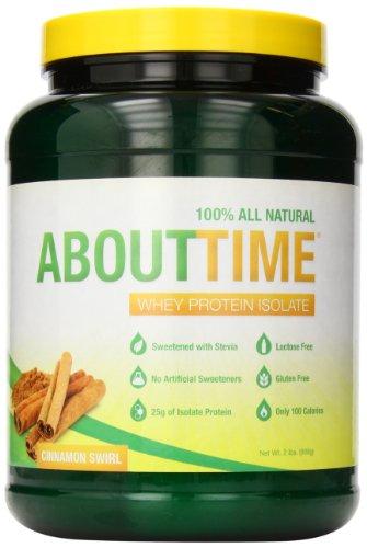 SDC Питание О времени изолят сывороточного протеина, корица водоворот 2 фунта
