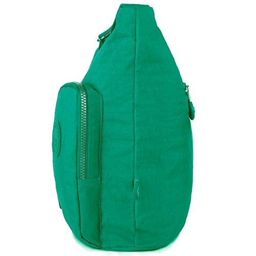 1204 Pocket Green Oakarbo Large Jungle Multi Crossbody Nylon Bag Bwxq4FpOq
