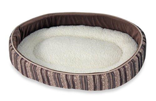 Smartykat Catniplounger With Certified Organic Catnip  Charcoal Oatmeal Berber