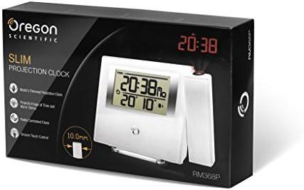 Oregon Scientific RM-368-P Despertador, Blanco: Amazon.es: Jardín