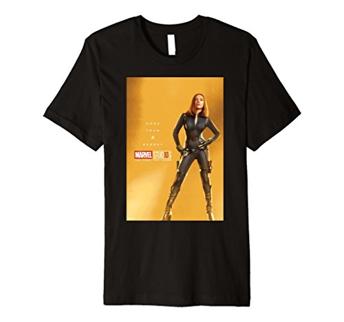 Marvel Studios 10 Years Black Widow Poster Premium T-Shirt