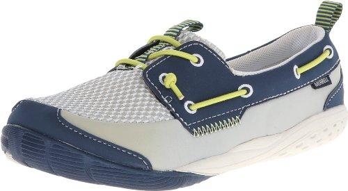 Merrell Dock Glove Sneaker (Toddler/Little Kid/Big Kid),Dark Denim,7 M US Big Kid (Kids Glove Merrell)