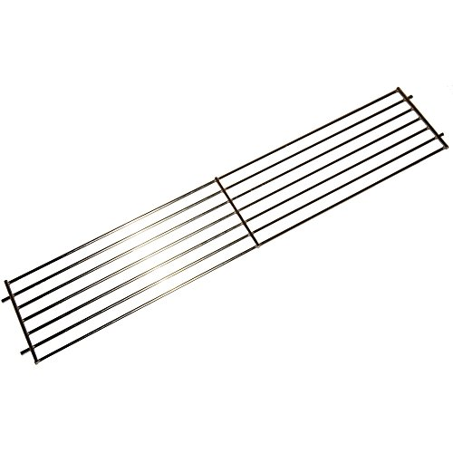 Music City Metals 02345 Chrome Steel Wire Warming Rack Replacement for Select Weber Gas Grill Models