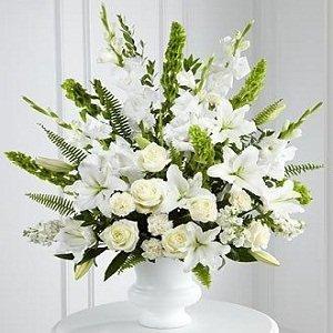 Morning Stars Funeral / Sympathy Floral Arrangement Grenville Station