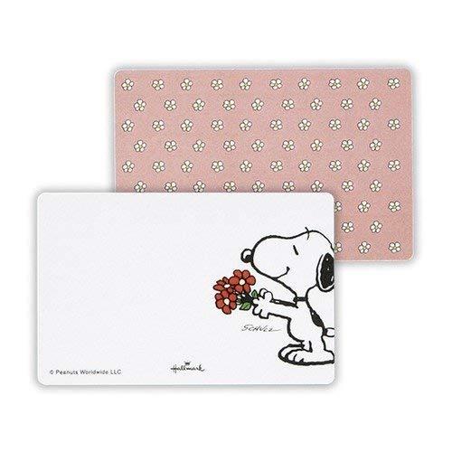 HM Snoopy Mini Memo Pad Flower 634759