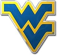 West Virginia University Heavy Duty Aluminum Color Emblem