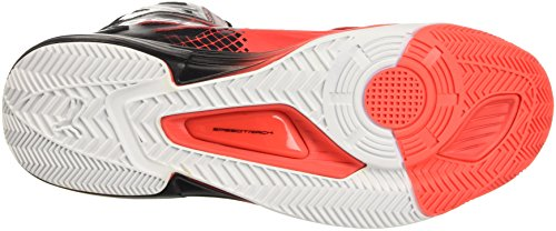 Puma Evospeed V1 High Botas de Fútbol, Red Blast/Blanco/Negro, 11