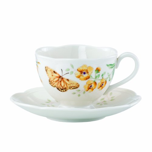 Lenox Butterfly Meadow Fritillary Cup and Saucer Set - 812463