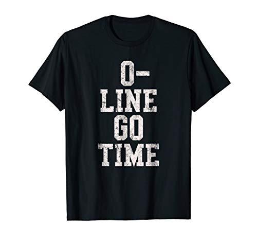 Football Offensive Lineman T-Shirt O-Line Men Boys