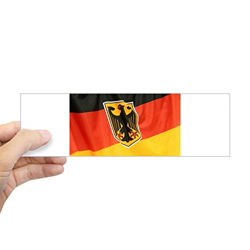 Bumper Sticker German Flag Waving ()