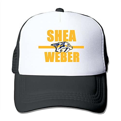 Bro-Custom Shea Hockey Player Weber Summer Hat Caps One Size Fit All Black
