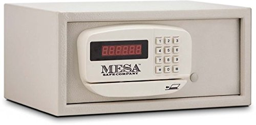 Mesa Safe Mesa MP916-Blk Hotel/Residential Pedestal for Mhrc916E-Blk, Black ()