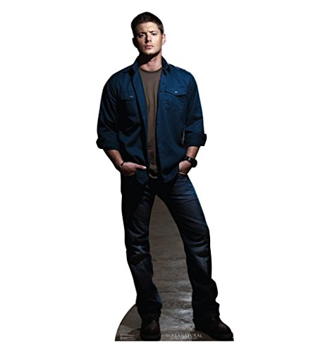 Dean Winchester - The CW's Supernatural - Advanced Graphics Life Size Cardboard Standup (Cardboard Cutout Dean compare prices)