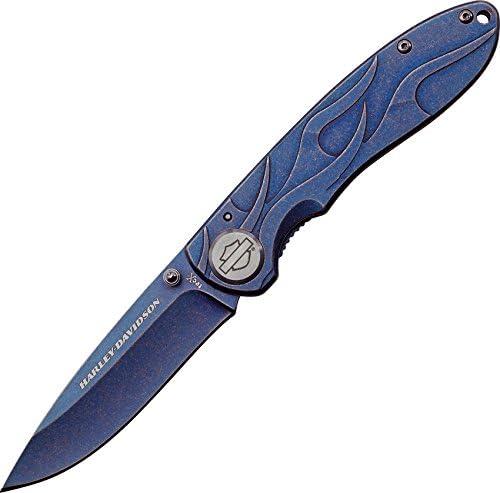 Case Harley-Davidson 52121 Tec Polished Stainless Knife