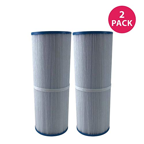 Think Crucial 2 Replacements for Unicel Pool Filter Fits C-4326, Pleatco PRB25-IN, Filbur FC-2375 & Rainbow Dynamic 25, Fits Multiple Pools & Spas