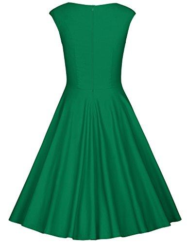 Cocktail Donna Vestiti Matrimonio Anni Muxxn Verde 50 Abbigliamento Da xwHE5xq0R