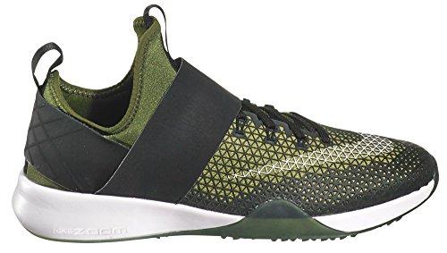 Nike Damen Air Zoom Strong Laufschuhe Legion Grün / Weiß / Schwarz