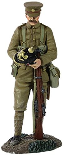 World War 1 British Infantry with Souvenir German Helmet 1:30 Scale -