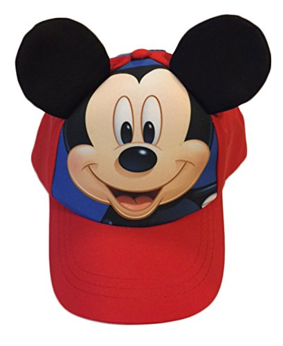 Mickey Mouse Little & Baby Boys Toddler Character Baseball Hat]()