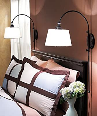 Adjustable Wall Lamps (Set of 2)