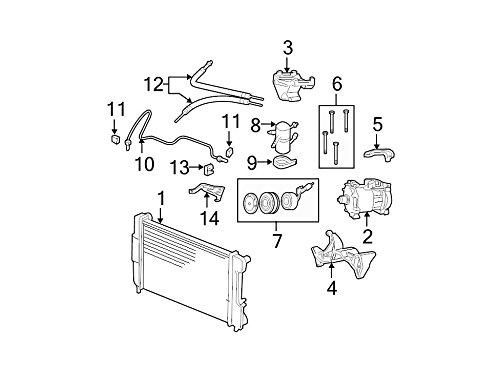 Mopar 5505 6088AD, A/C Refrigerant Suction Hose