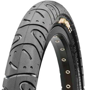 Tire Black Steel - Maxxis Tire Hookworm Single Ply 26 x 2.5 Black Steel