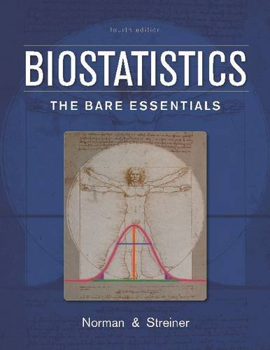 Biostatistics: The Bare Essentials