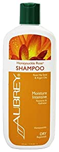 Aubrey Organics Moisturizing Shampoo - Honeysuckle Rose - 11 oz