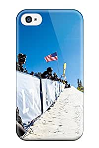 Special Design Back Shaun White Snowboarding Phone Case Cover For Iphone 4/4s