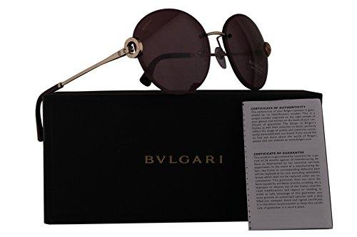Bvlgari BV6091B Sunglasses Pink Gold w/Violet Lens 61mm 2781A BV 6091B BV6091-B BV 6091-B - Bulgari Www Com